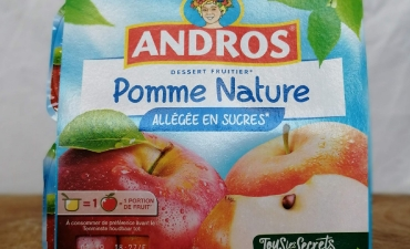 Andros Compote Pomme Nature