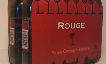 Vin rouge 6X25cl